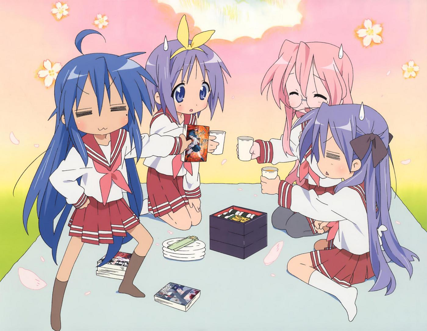 It's the 2nd round for Lucky Star wallpapers! Kumpulan wallpaper Lucky Star